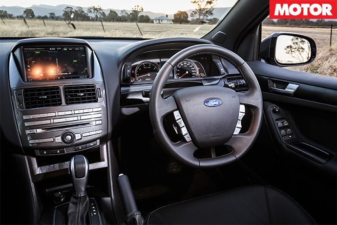 Ford G6E Turbo interior