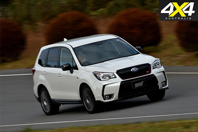 Subaru -forester -sti -side