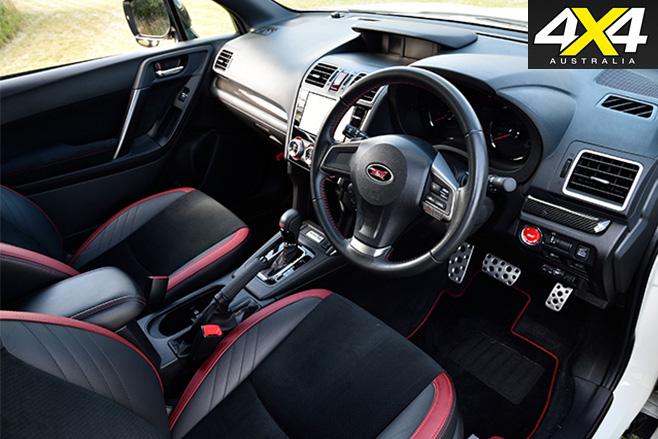 Subaru -forester -sti -interior