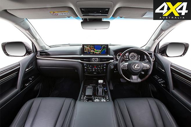 Lexus LX570 interior front