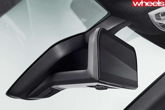 BMW-i 8-interior -rear -vision -mirror