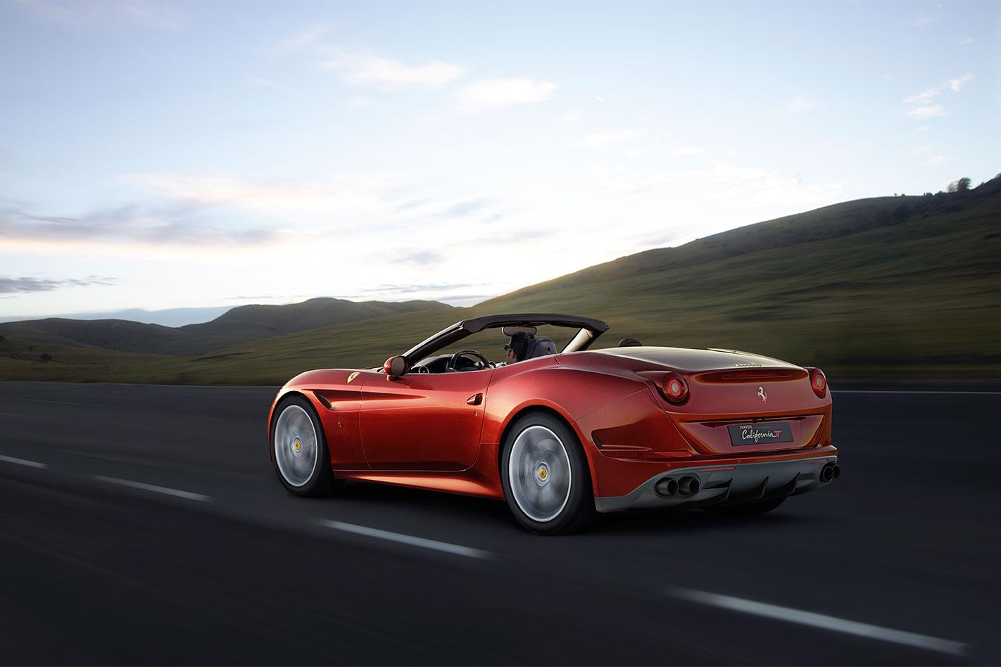 Ferrari -California -T-Handling -Speciale -rear