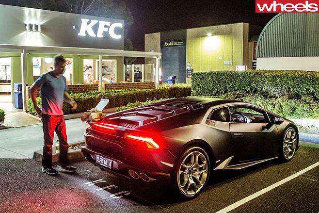 Lamborghini -Huracan -rear -KFC