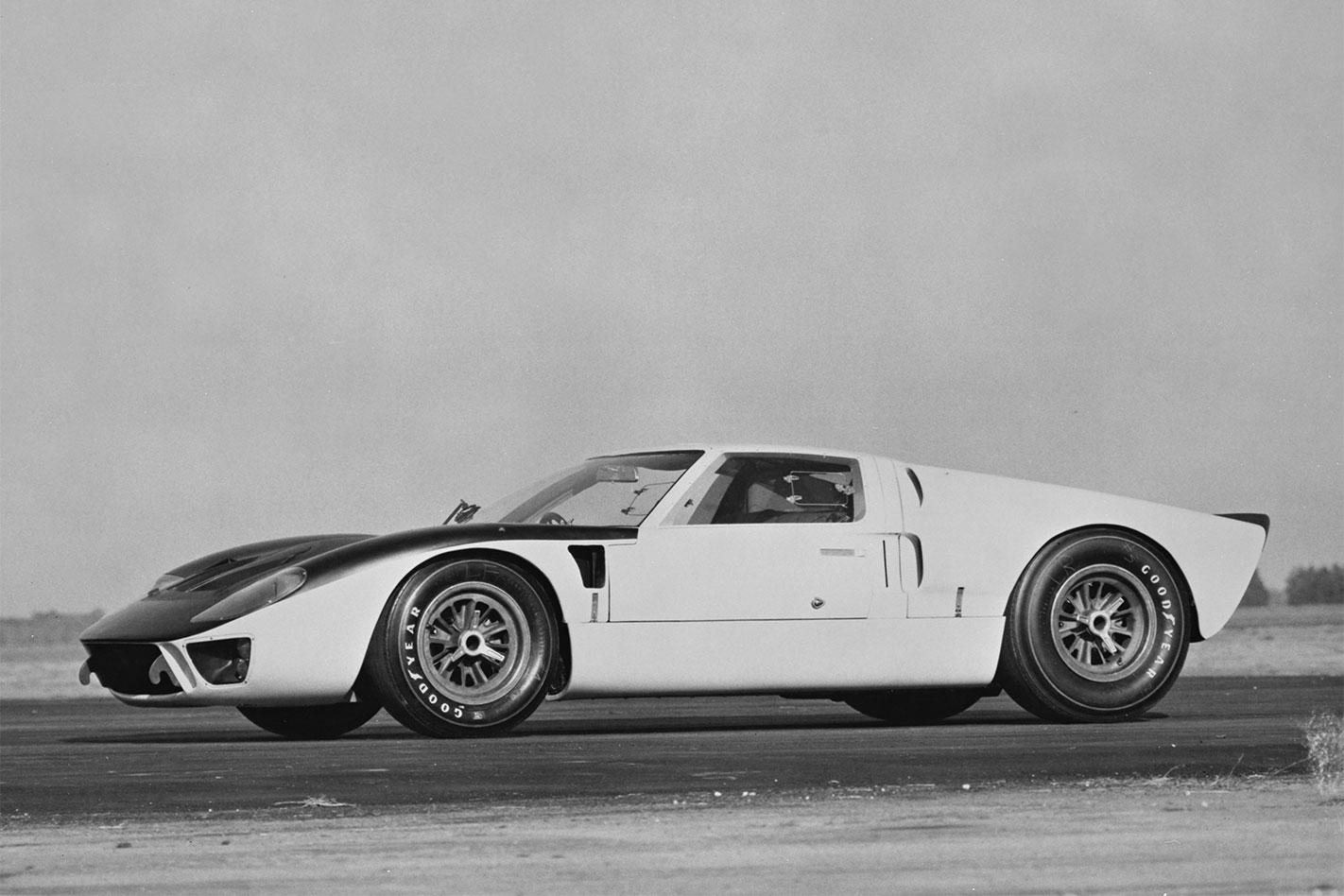 Ford -GT40-Mk -II-Sebring -testing