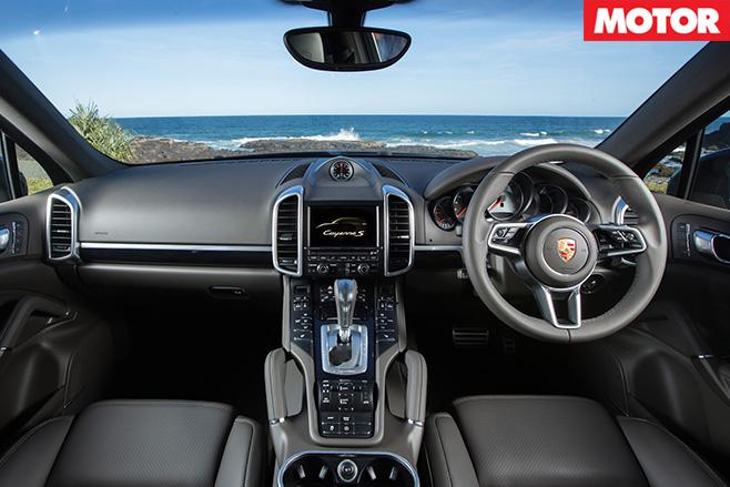 Porsche cayenne turbo interior