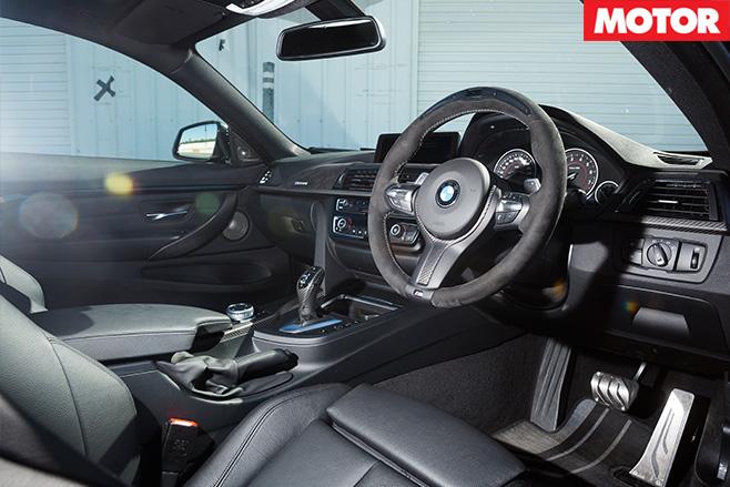 BMW 435i M Performance interior'