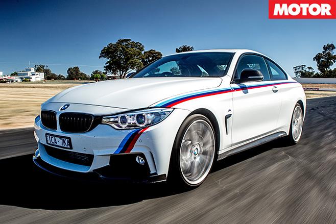 BMW 435i M Performance driving 2