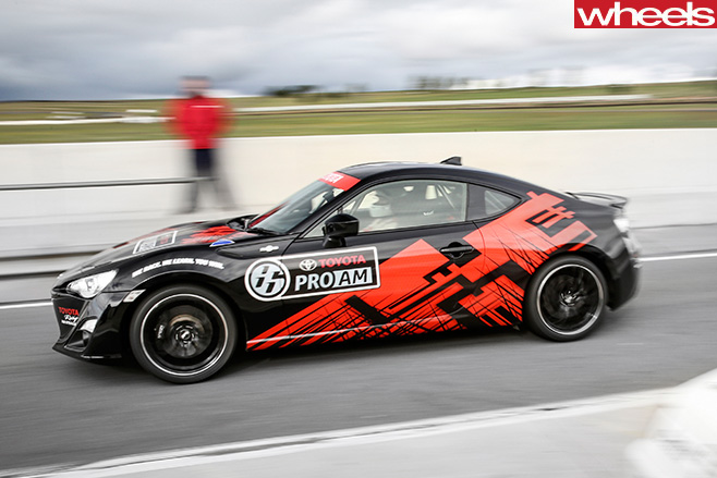 Toyota -86-Race -Car -side -driving