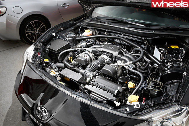Toyota -86-Race -Car -engine