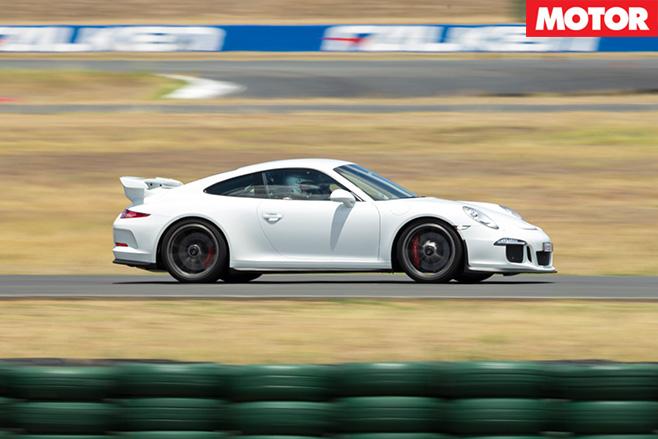 Porsche Sport Driving side