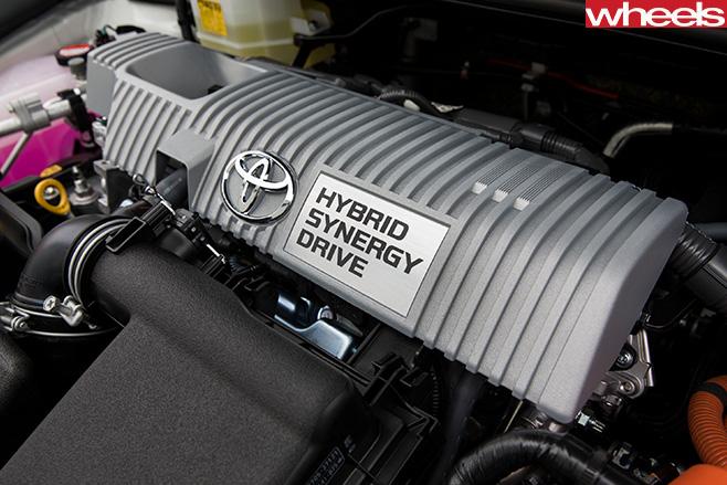 Toyota -Corolla -Hybrid -engine