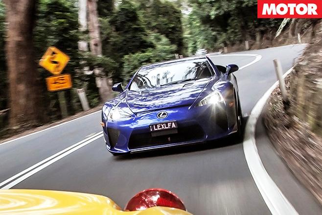 Lexus lfa font