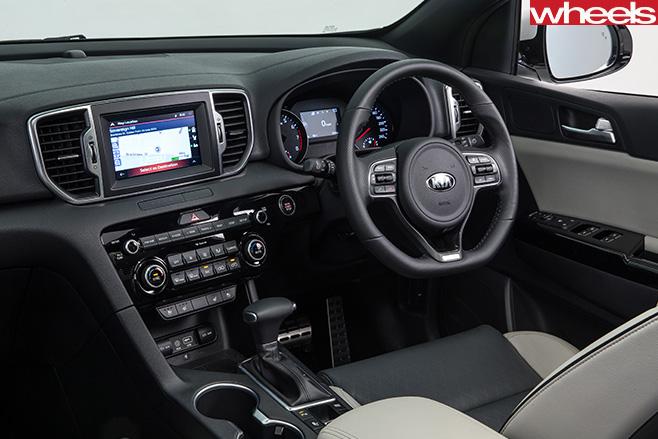Kia -Sportage -Platinum -interior