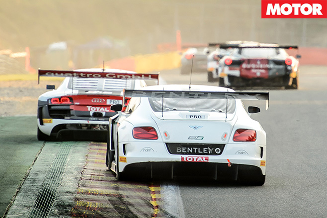 Bentley GT3 Racing rear