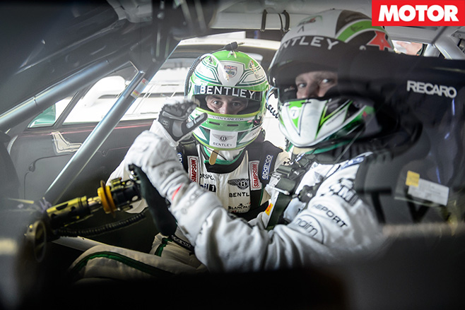 Bentley GT3 Racing team