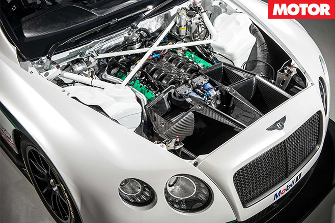 Bentley GT3 engine