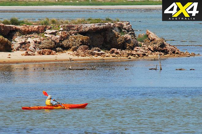 Kayaking -area