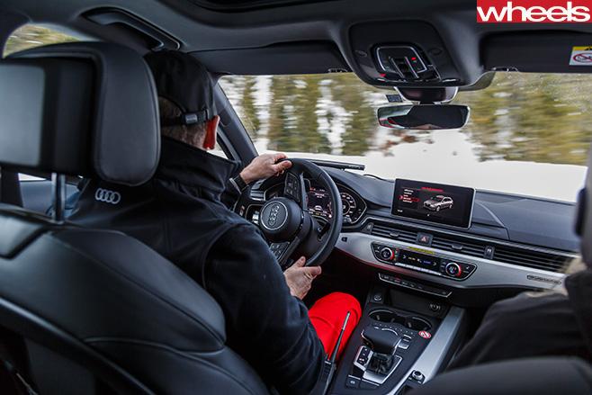 Audi -Avant -Quattro -interior