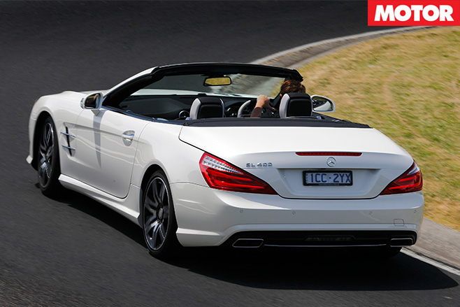 Mercedes-Benz SL400 rear