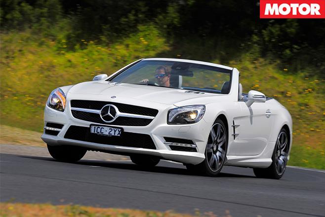 Mercedes-Benz SL400 front