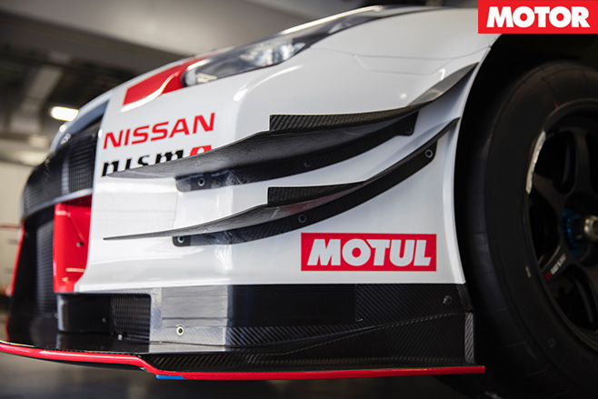 Gt-r nismo gt3 front bars