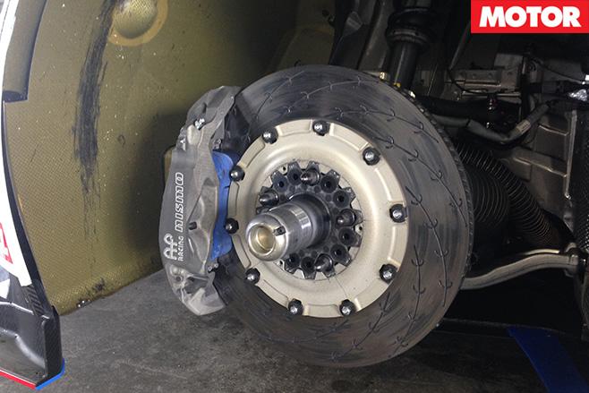Gt-r nismo gt3 brakes