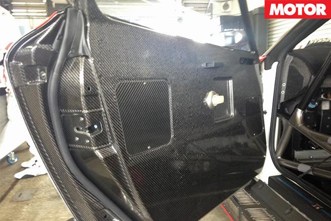 Nismo gt3 carbon fibre interior