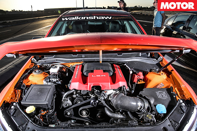 Walkinshaw performance 507 engine