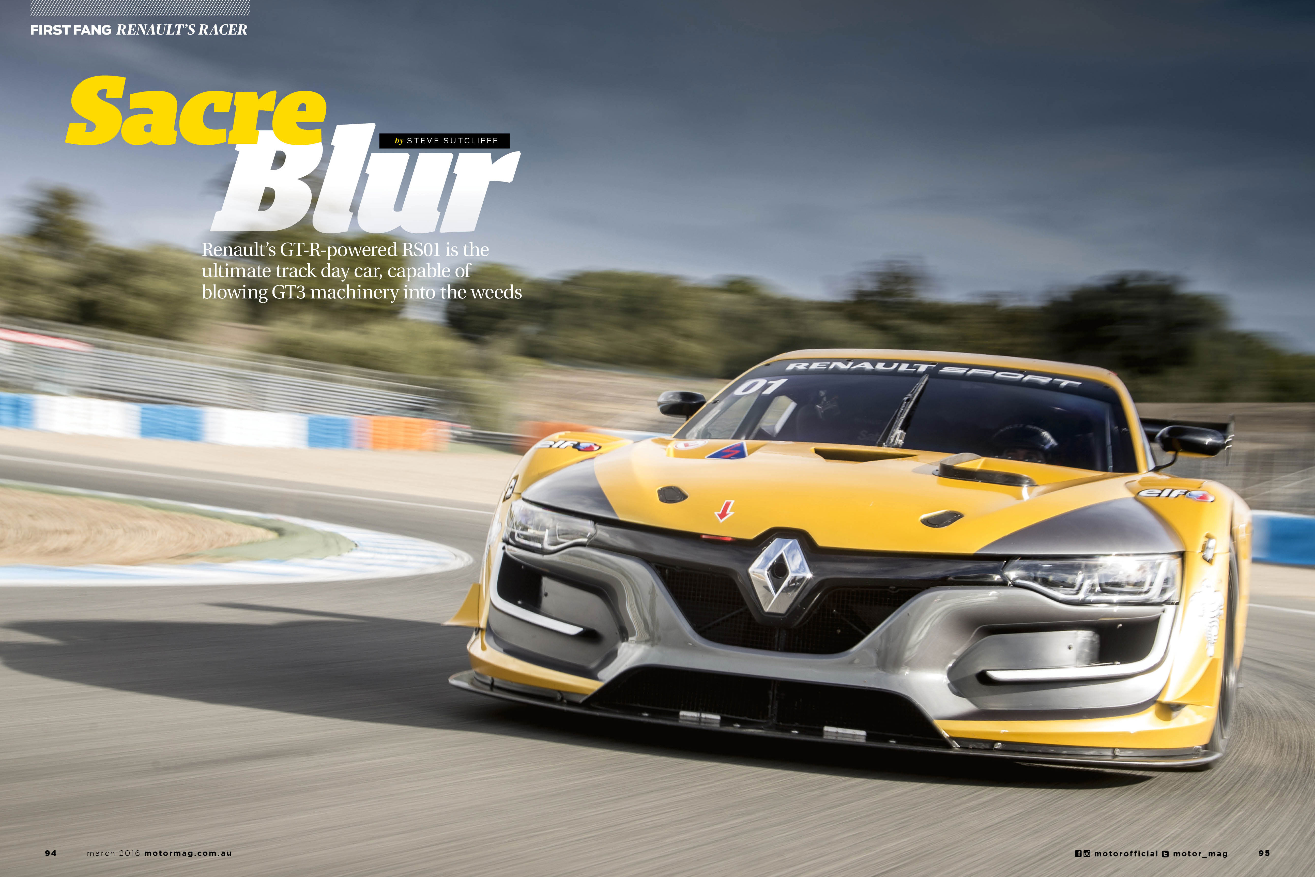 Renault -RS01