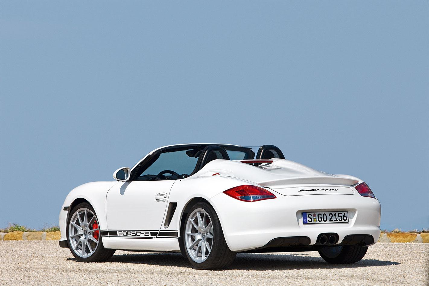 Porsche -Boxster -Spyder
