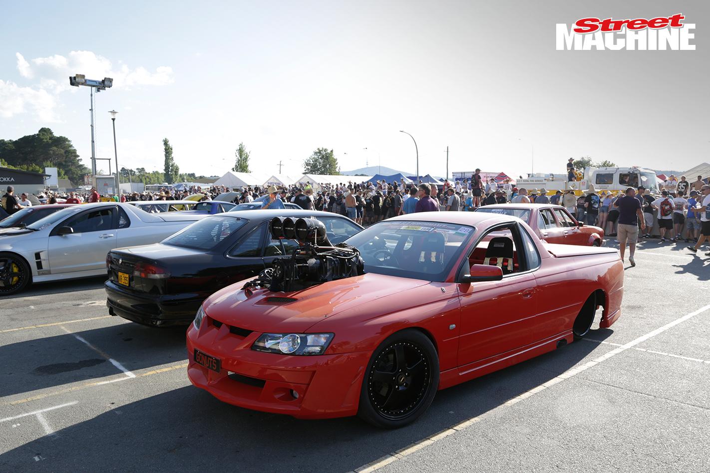 Holden Ute Blown Burnout