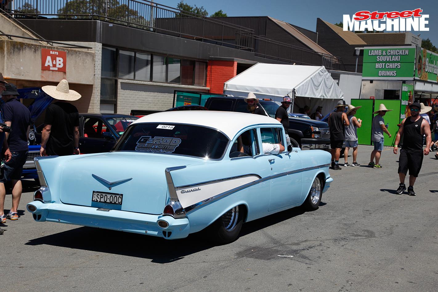 57 Chev Coupe