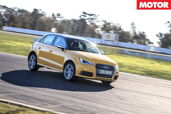 BFYB Audi Sportback S1 driving