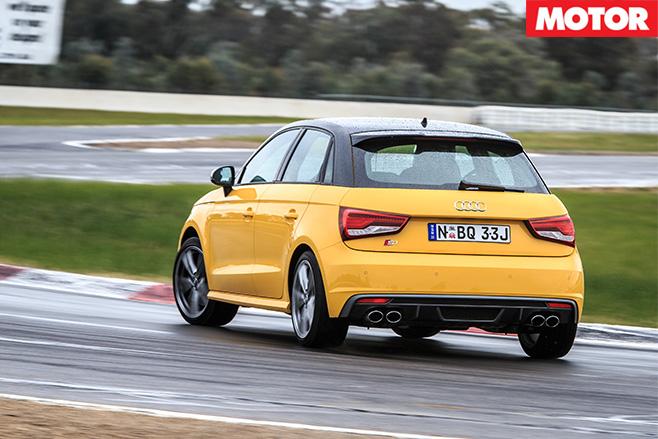 BFYB Audi Sportback S1 rear