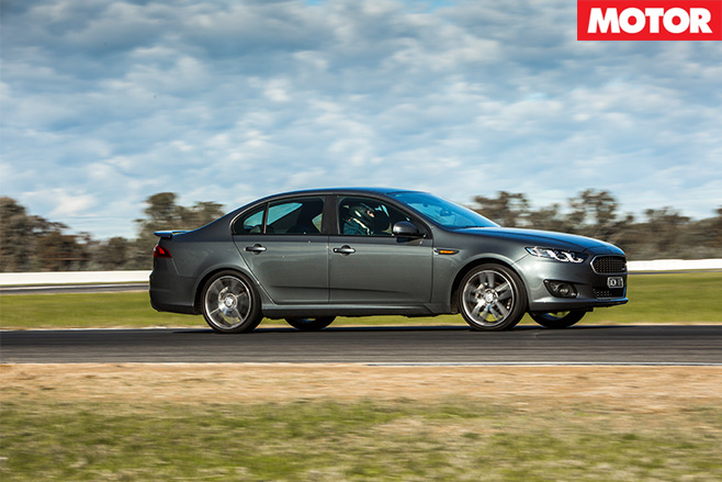 Ford Falcon XR6 driving
