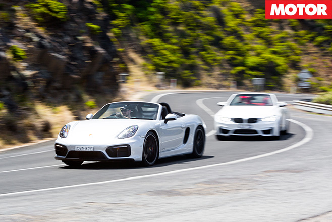 Porsche boxster vs bimma