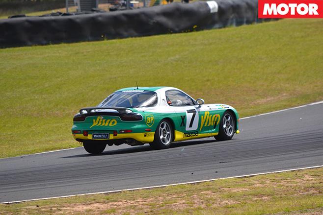 Rx -7-driving -rear