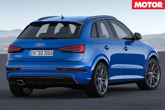 Audi RS Q3 Performance revealed rear