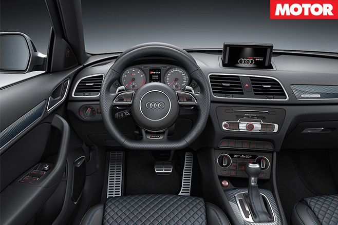 Audi RS Q3 Performance interior