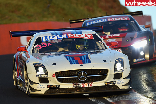 Bathurst -12-hour -Van -Gisbergen -driving -Mercedes