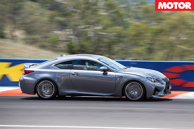 Lexus rc f driving side