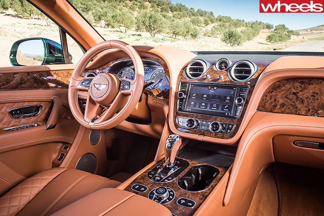 Bentley -Bentayga -driving -front -seats