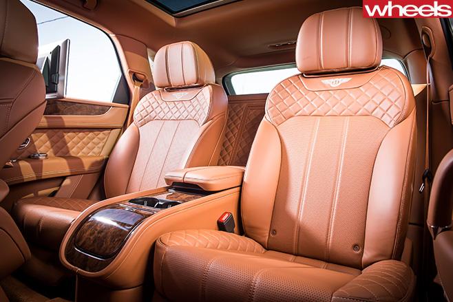 Bentley -Bentayga -driving -rear -seats