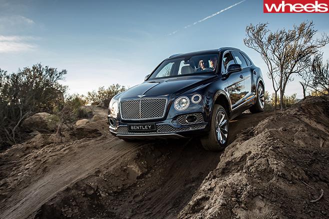 Bentley -Bentayga -tungsten -down -hill