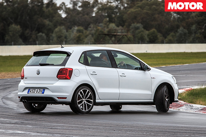 Volkswagen polo gti turn