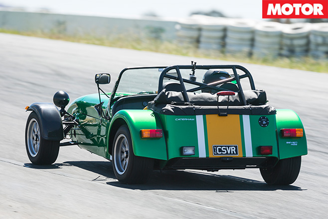 Caterham 485 rear