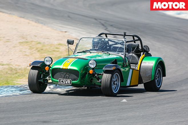 Caterham 485 front driving