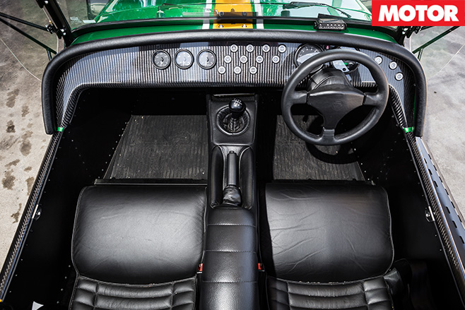 Caterham 485 interior