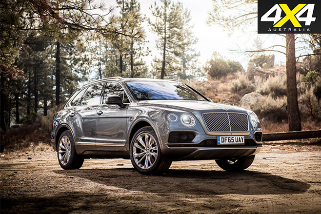 Bentley Bentayga stationary