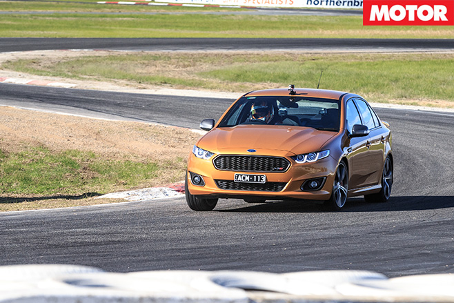 Ford falcon xr8 driving front